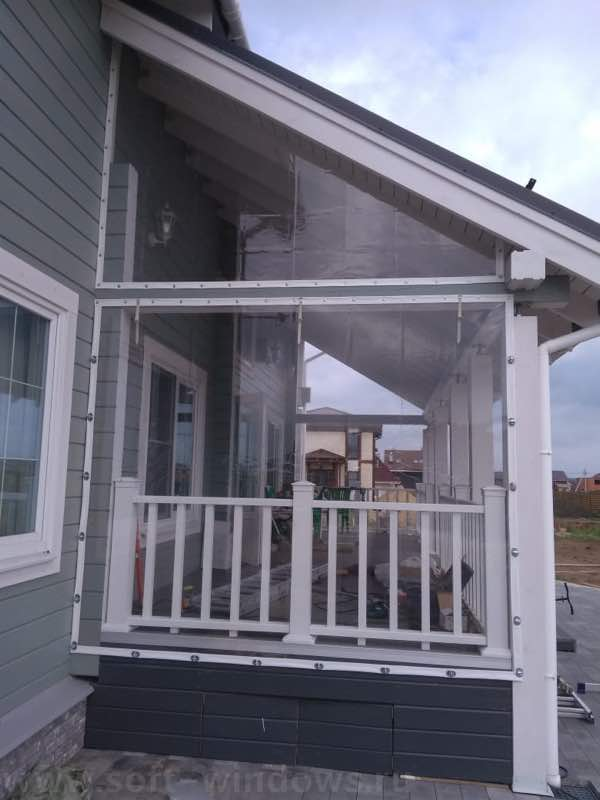 мягкие окна для веранды в Калуге
