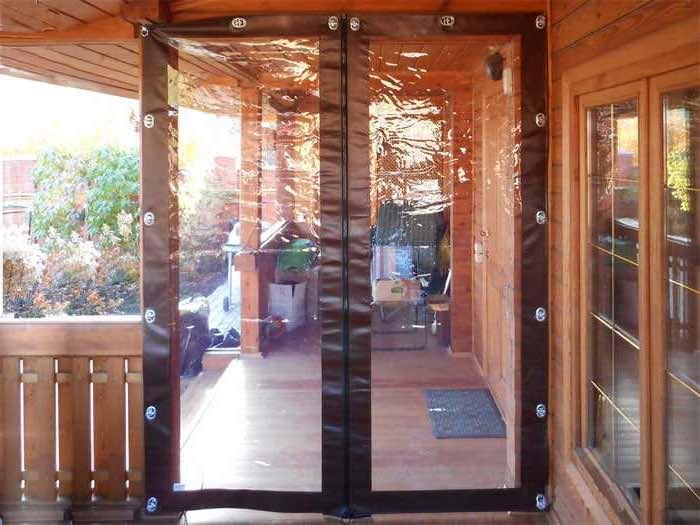 рулонные двери