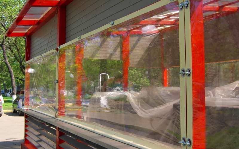 мягкие окна для беседок в Чехове