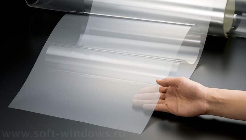 прозрачная пвх плёнка