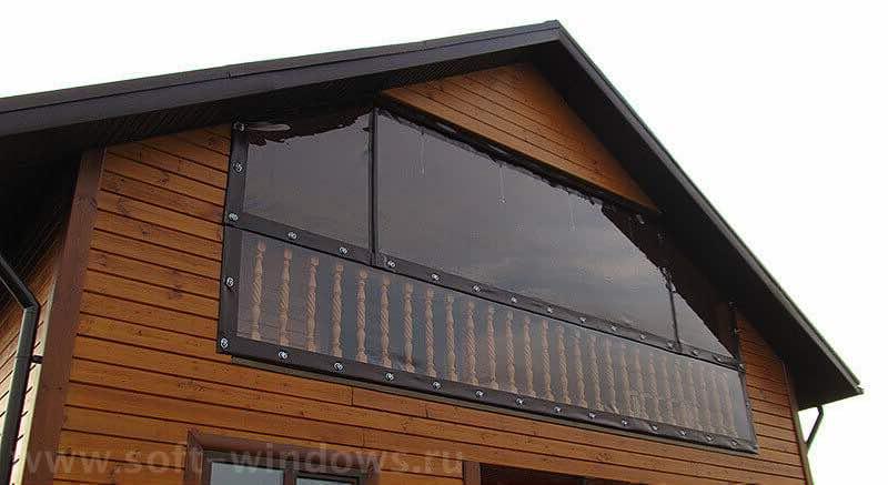 мягкие окна для балкона в Подольском районе