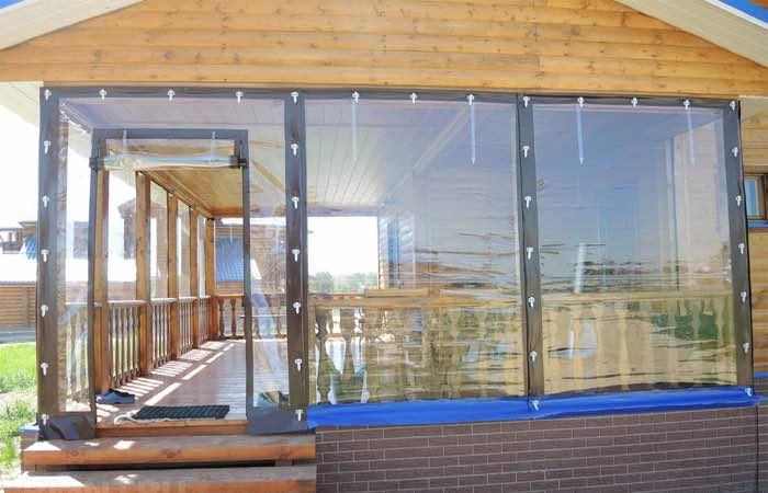 мягкие окна для беседок и террас в Туле