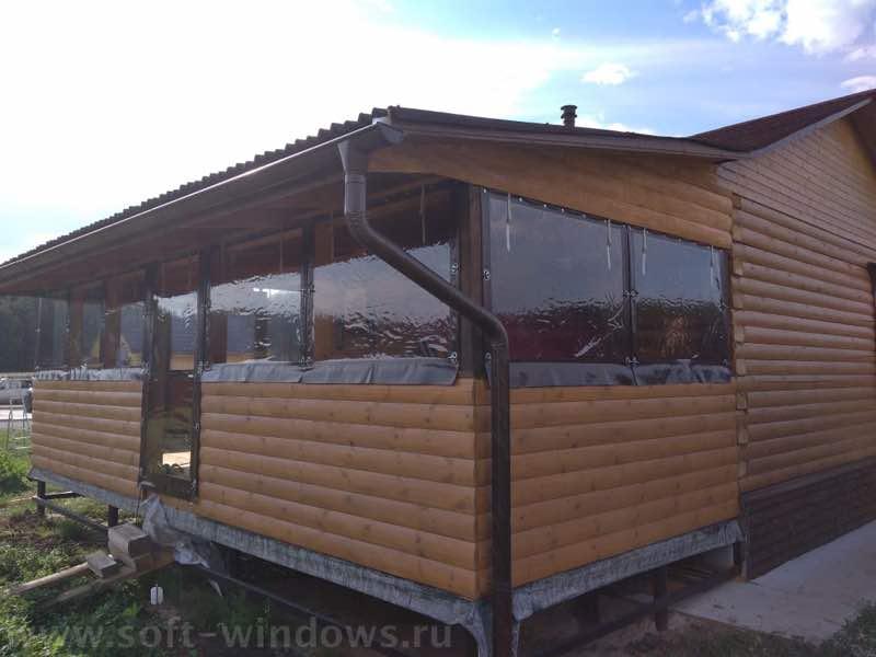 мягкие окна на веранду в Туле