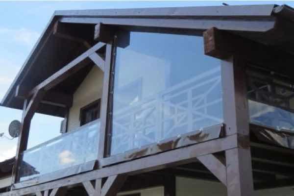 мягкие окна на балкон в Обнинске
