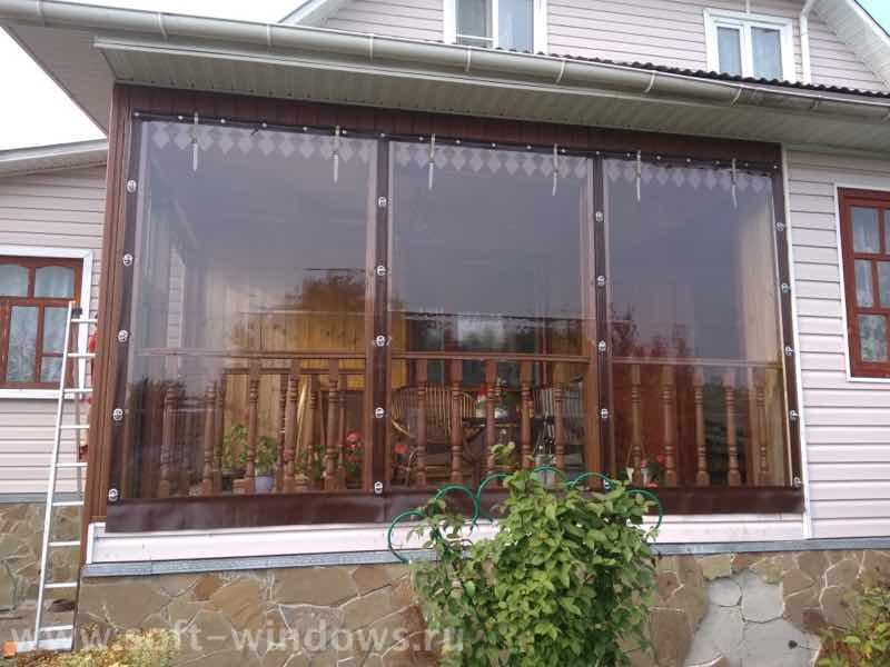Мягкие окна в Заокском